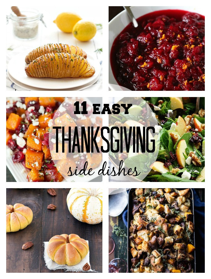 Side Dishes For Thanksgiving Easy  11 Easy Thanksgiving Side Dishes As Easy As Apple Pie