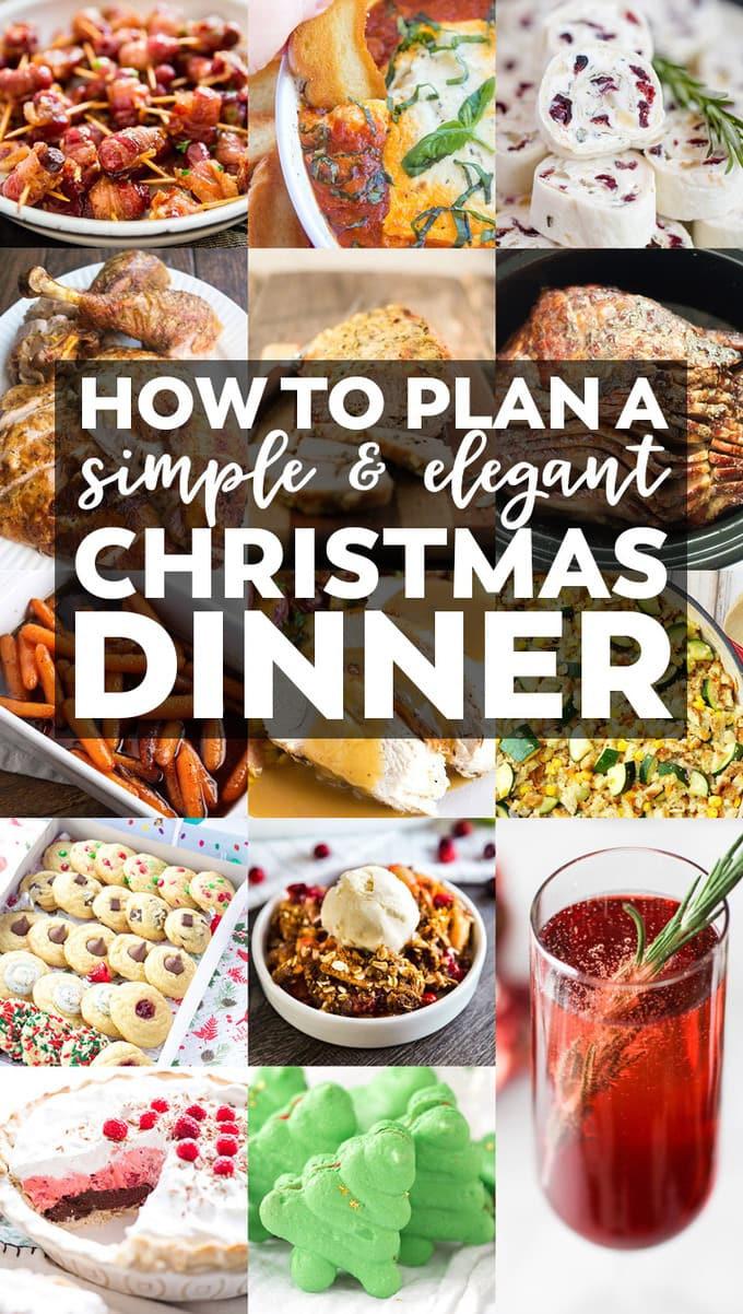Simple Christmas Dinner  How to Plan a Simple & Elegant Christmas Dinner Menu