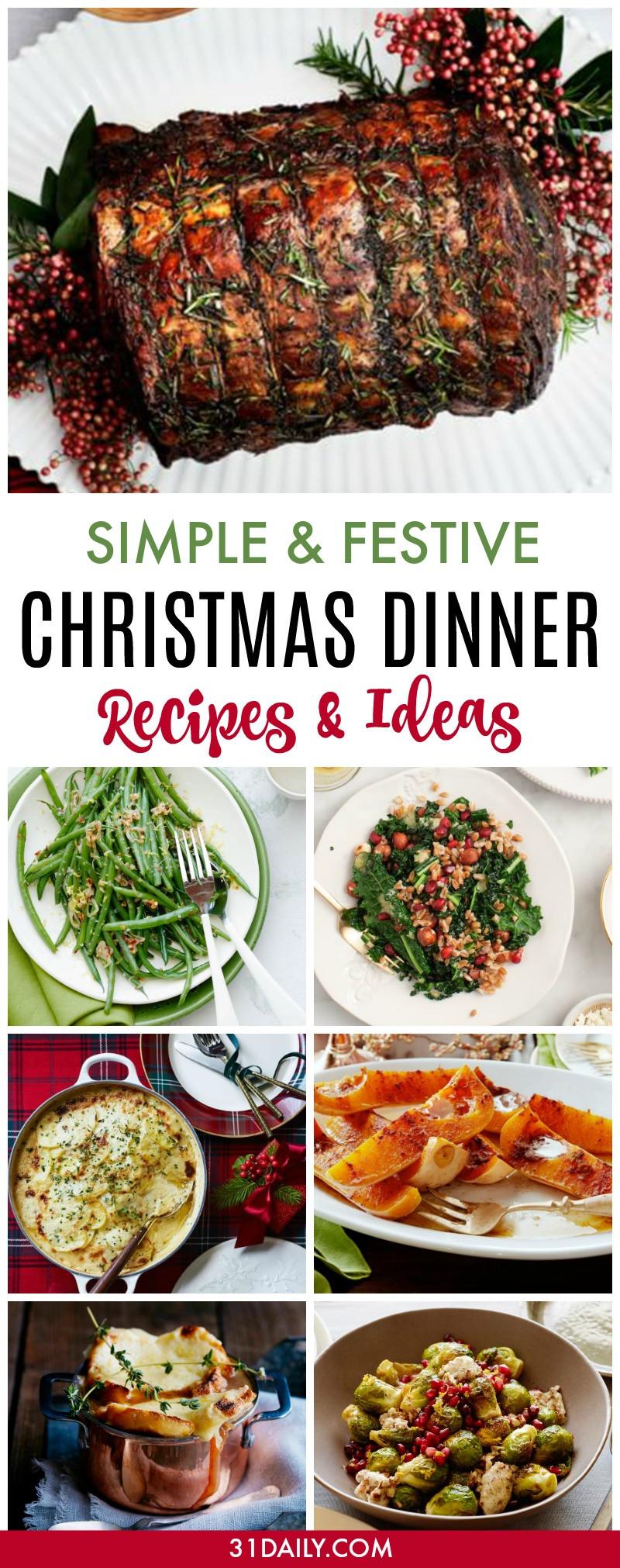 Simple Christmas Dinner  Simple and Festive Christmas Dinner Recipes and Ideas 31