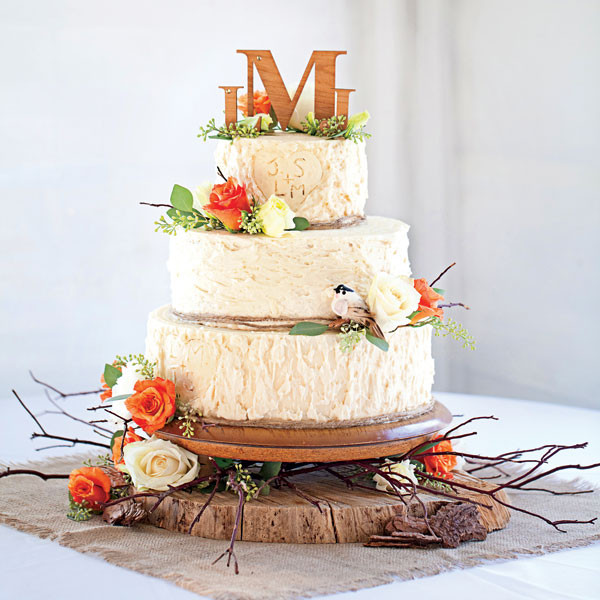 Simple Fall Wedding Cakes  24 Great Ideas for Fall Wedding Cake Decoration Style
