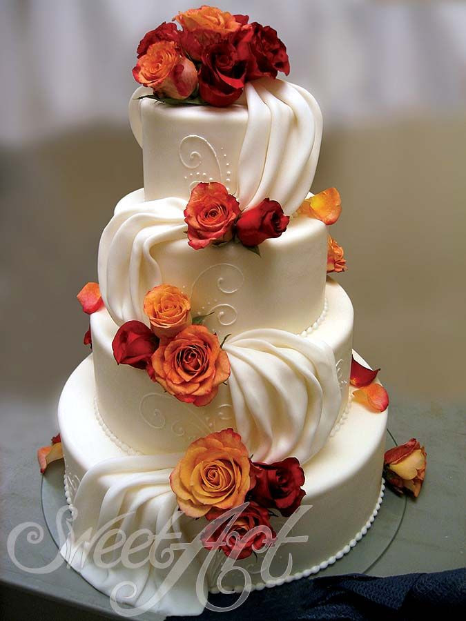 Simple Fall Wedding Cakes  25 best ideas about Fall Wedding Cakes on Pinterest