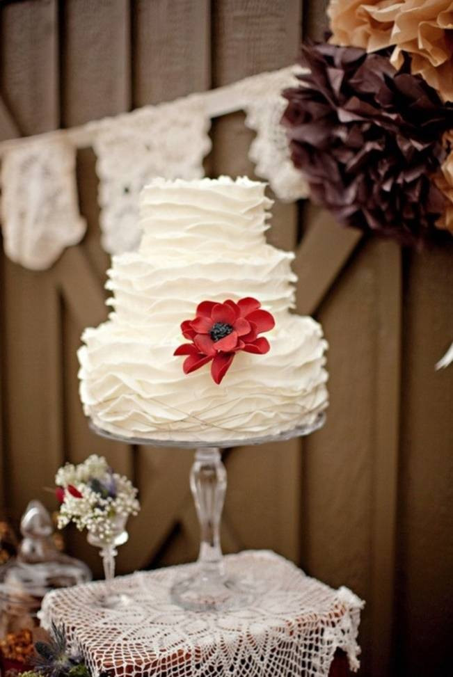 Simple Fall Wedding Cakes  12 Rustic Autumn Wedding Cakes you'll Love