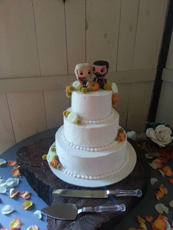 Simple Fall Wedding Cakes  simple fall wedding cake