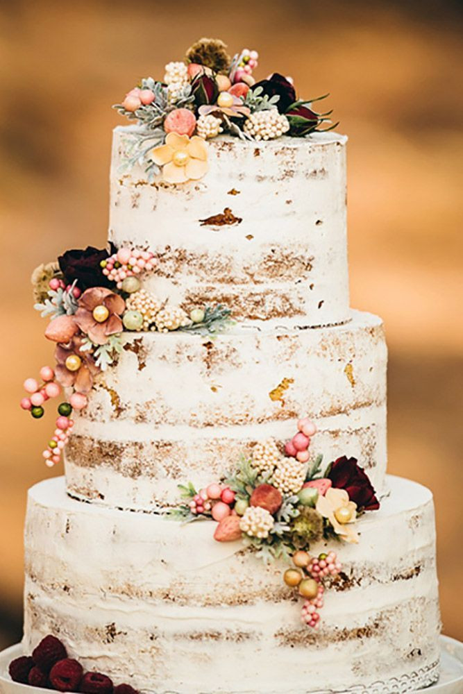 Simple Fall Wedding Cakes  25 best ideas about Rustic wedding cakes on Pinterest