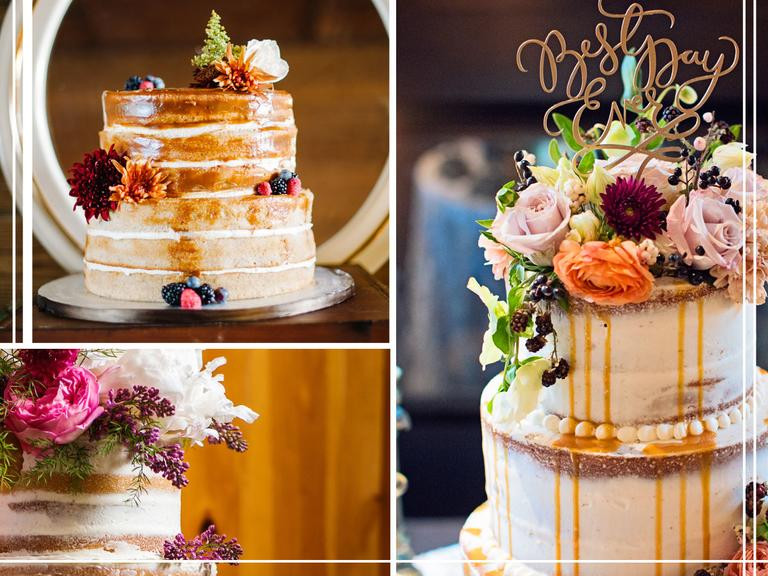 Simple Fall Wedding Cakes  7 Hot Wedding Trends for Fall