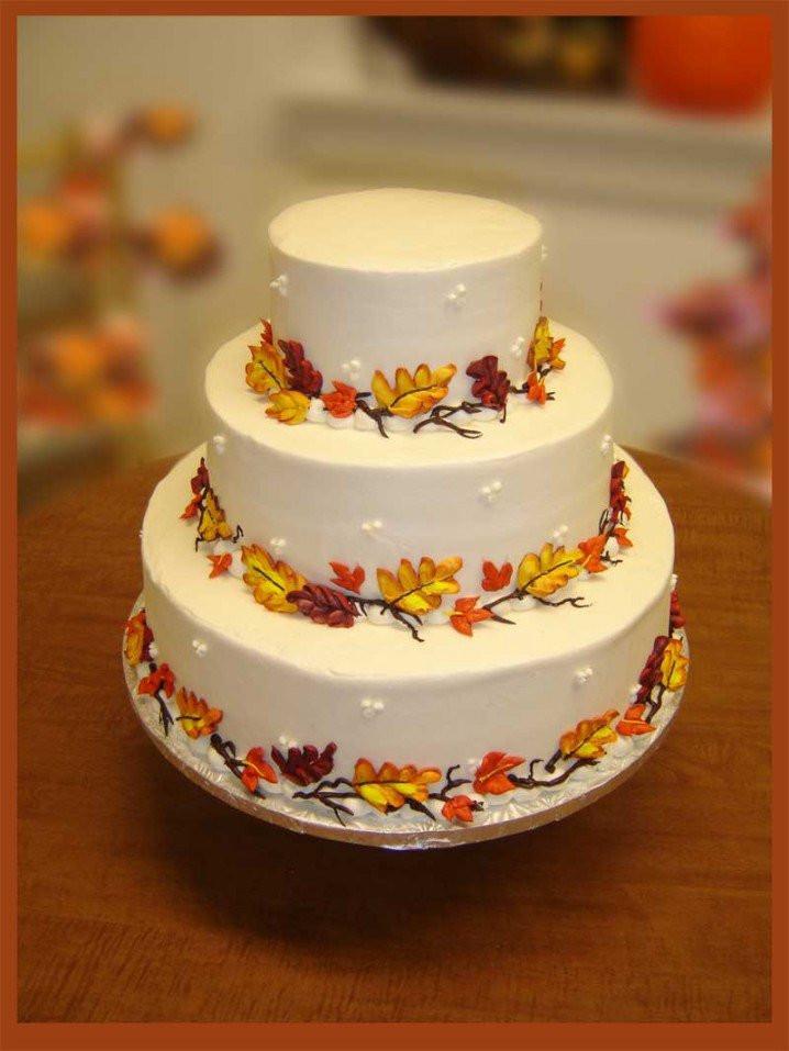 Simple Fall Wedding Cakes  15 Fall Wedding Cake Ideas You May Love Pretty Designs