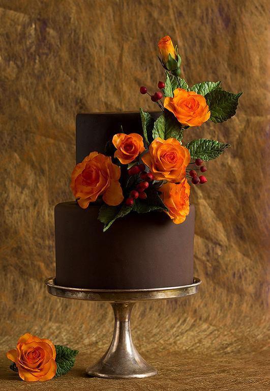 Simple Fall Wedding Cakes  Autumn Inspiration 5 Fabulous Fall Wedding Cake Designs