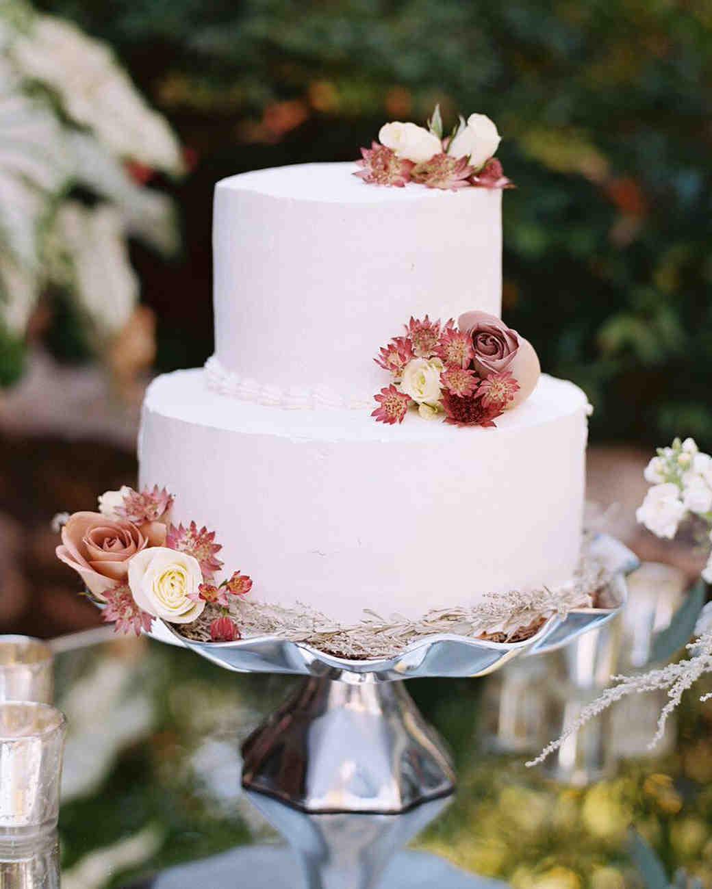 Simple Fall Wedding Cakes  Fall Wedding Cakes