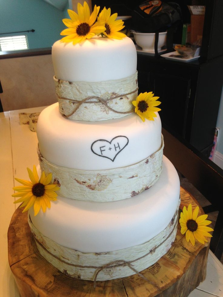 Simple Fall Wedding Cakes  26 best Fall in Love Wedding Series Cakes images on