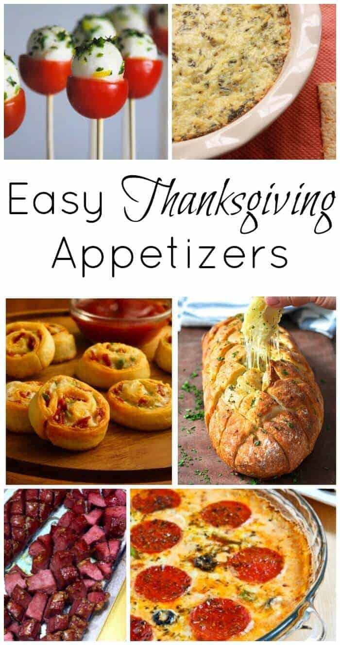 Simple Thanksgiving Appetizers  Thanksgiving Course 1 Easy Thanksgiving Appetizers