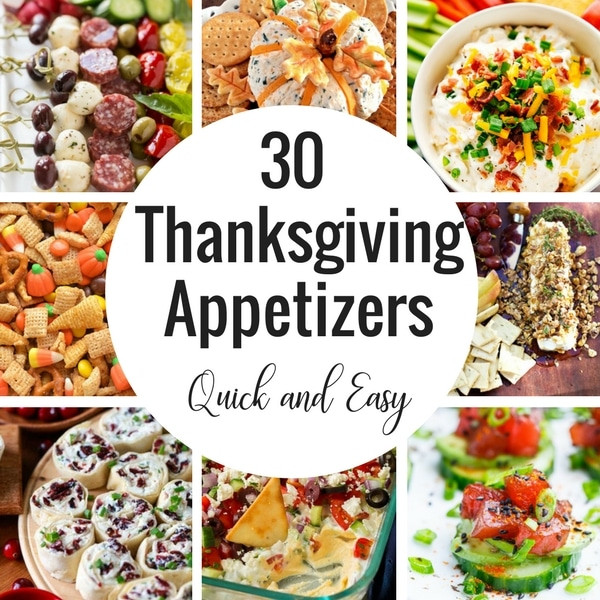 Simple Thanksgiving Appetizers  Blog Posts Dinner at the Zoo