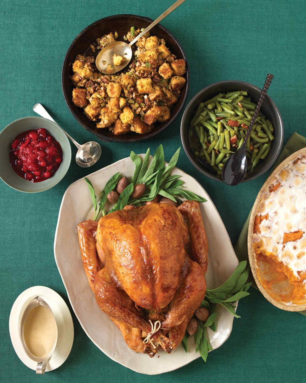 Simple Thanksgiving Dinner  Easy Thanksgiving Menus
