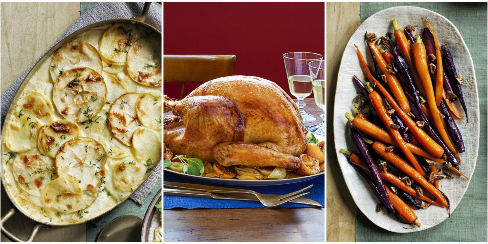 Simple Thanksgiving Dinner  5 Thanksgiving Menu Ideas Easy Thanksgiving Dinner Menus