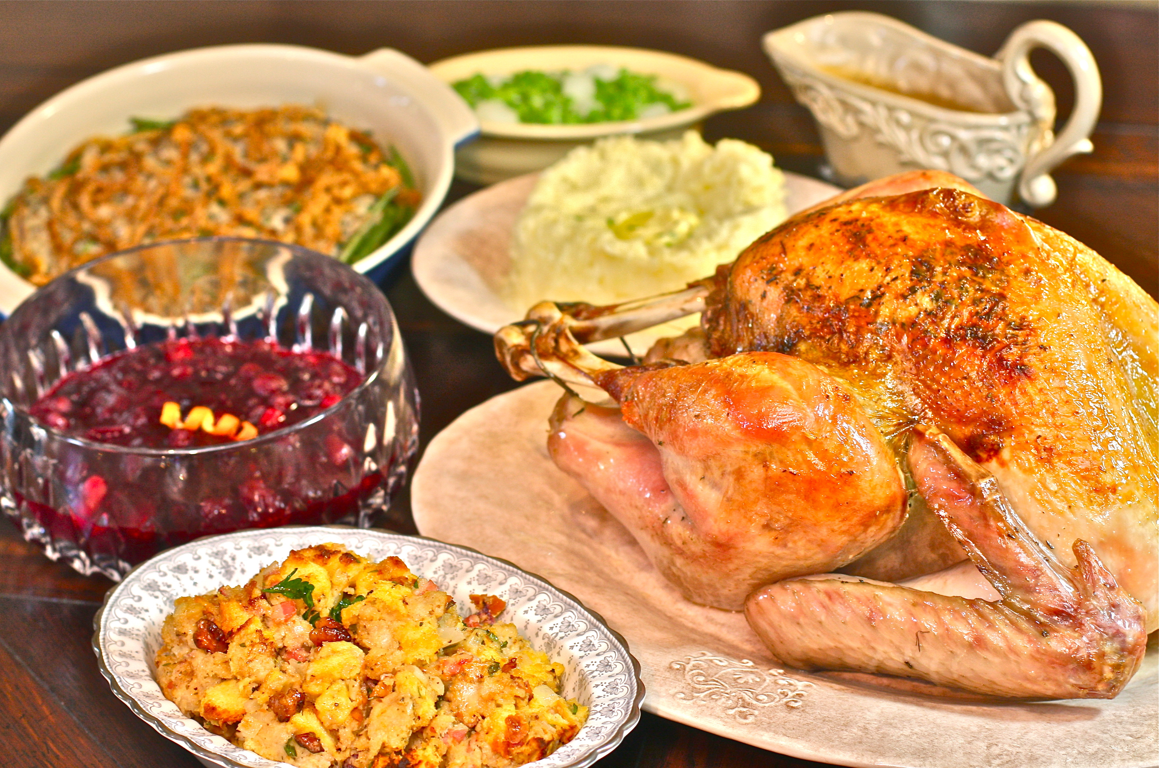 Simple Thanksgiving Dinner  Simple Holiday Event Ideas