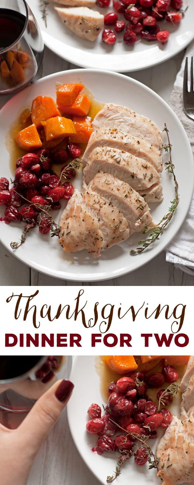 Simple Thanksgiving Dinner  Thanksgiving Dinner for Two Turkey Breast Dinner for Two