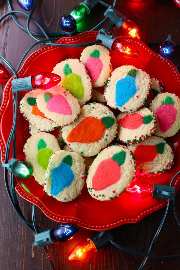 Slice And Bake Christmas Cookies  Christmas Lights Slice N Bake Cookies VIDEO Mom Loves