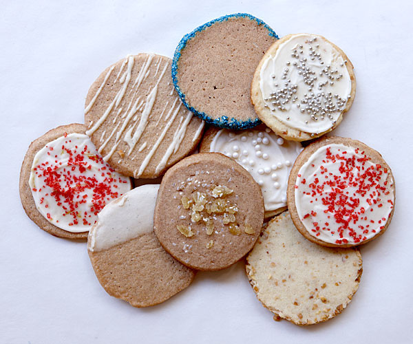 Slice And Bake Christmas Cookies  Vanilla Slice and Bake Cookies Recipe FineCooking
