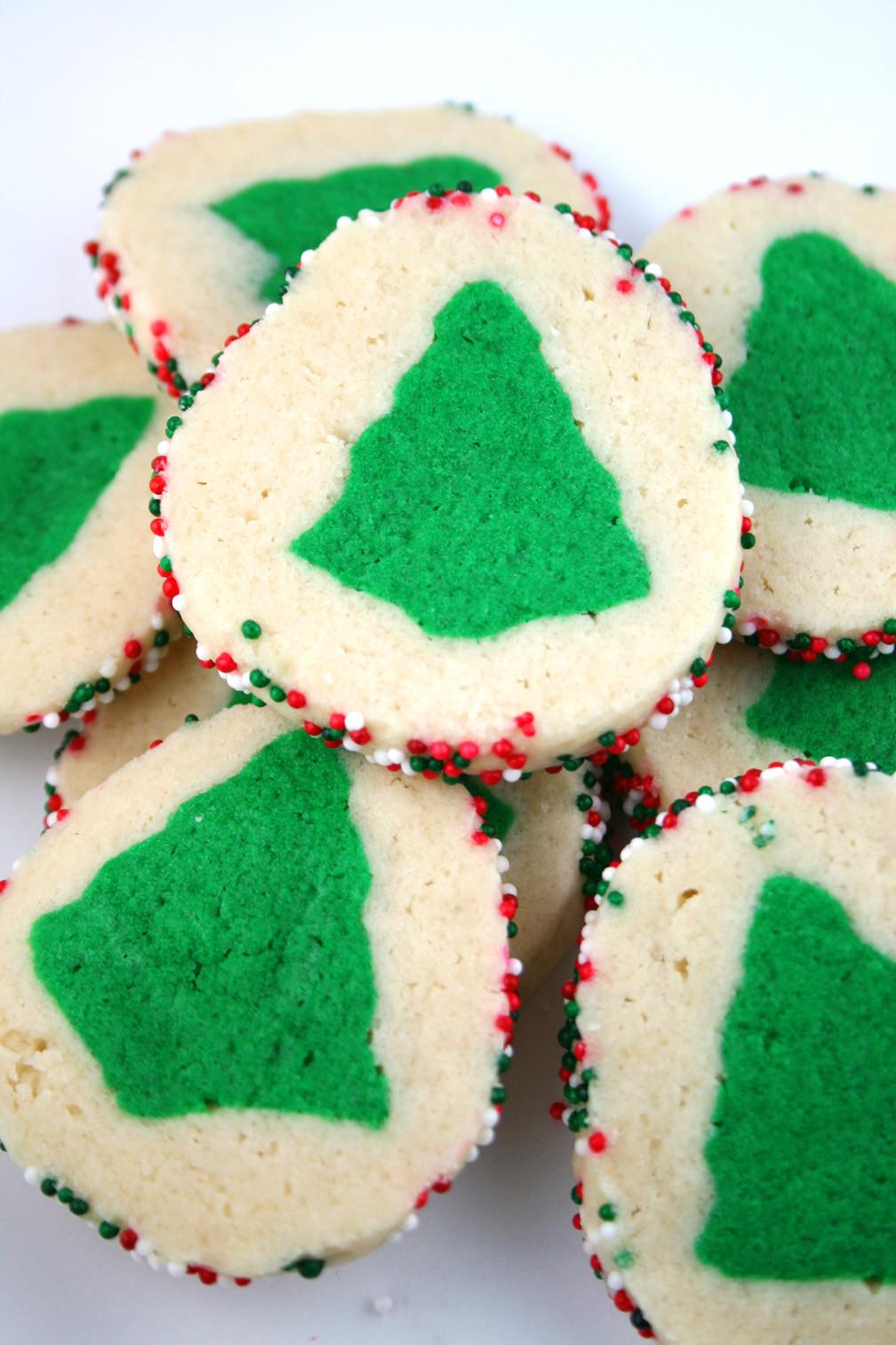 Slice And Bake Christmas Cookies  Slice n Bake Christmas Tree Cookies Mom Loves Baking