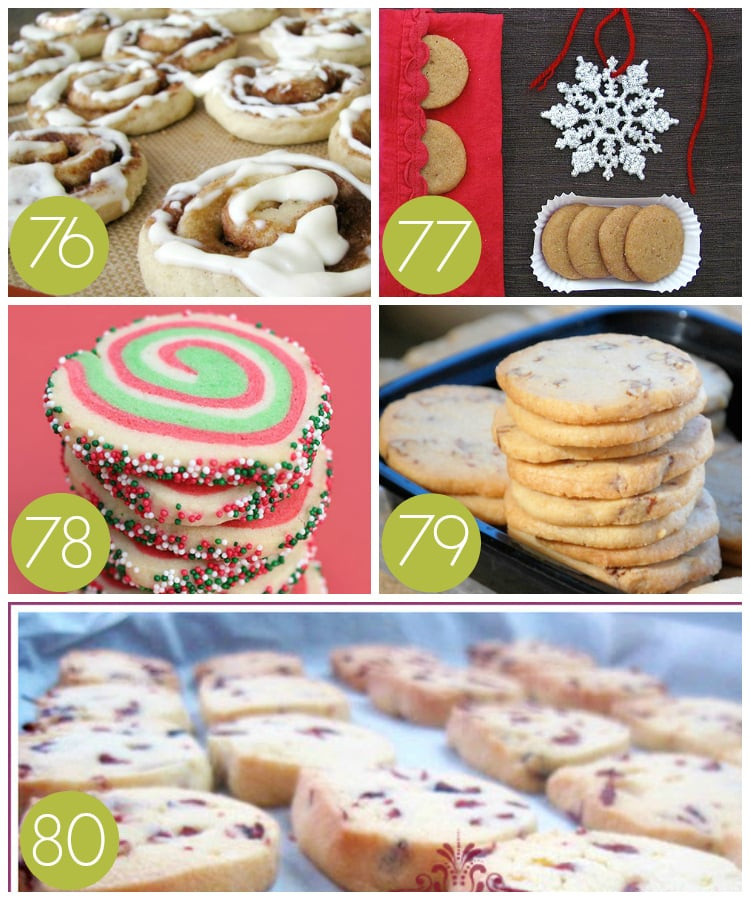 Slice And Bake Christmas Cookies  100 of the BEST Christmas Cookie Exchange Recipes