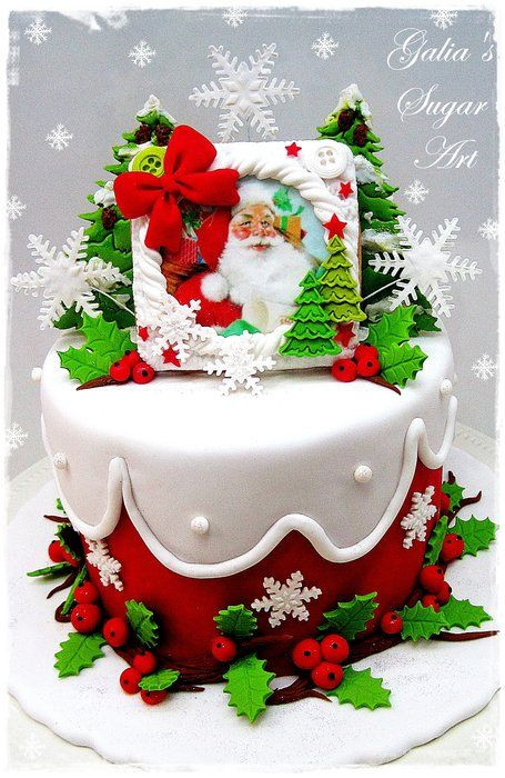 Small Christmas Cakes  Li l White Oven – A fine WordPress site