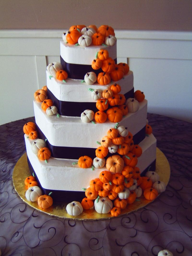 Small Fall Wedding Cakes  Trends We Love Pumpkin Wedding Decor This Fairy Tale Life