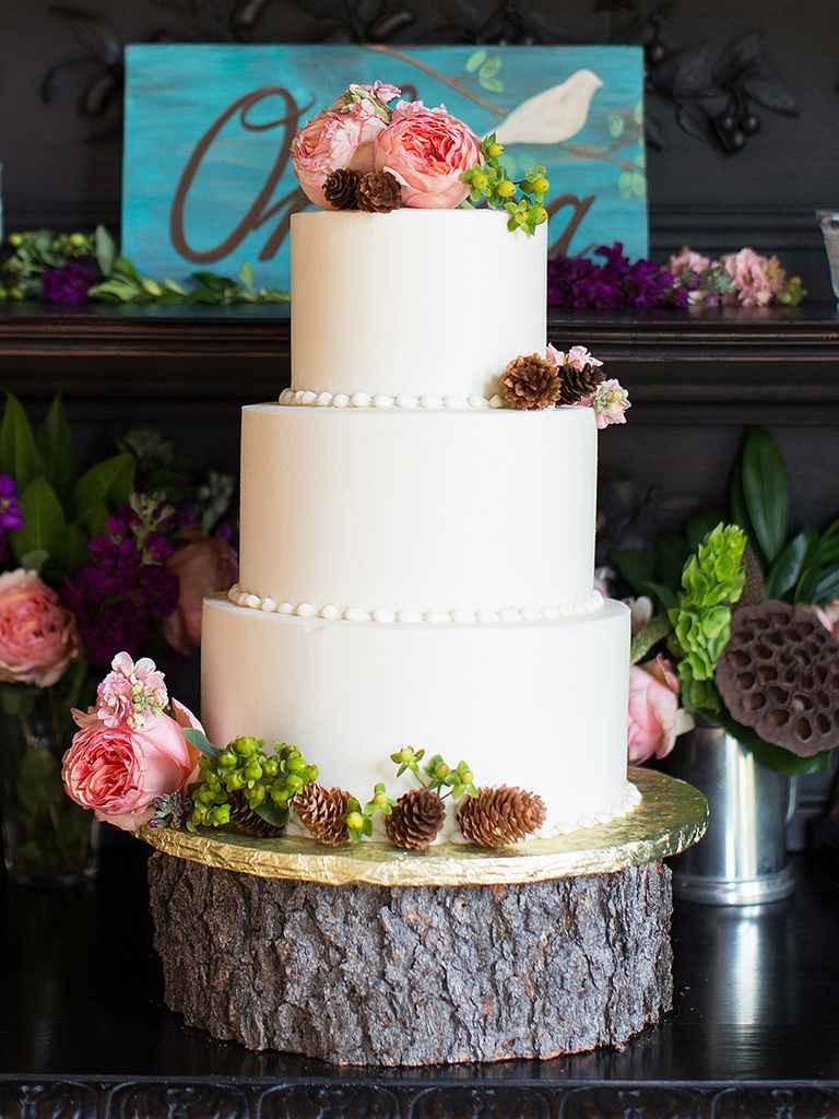 Small Fall Wedding Cakes  17 Gorgeous Fall Wedding Cakes