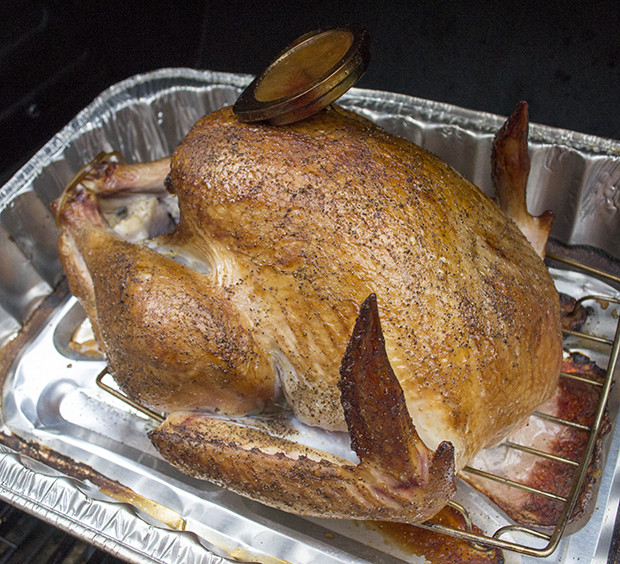 Smoke A Turkey For Thanksgiving  Smoked Turkey Recipe For Thanksgiving Damn Fine Dishes
