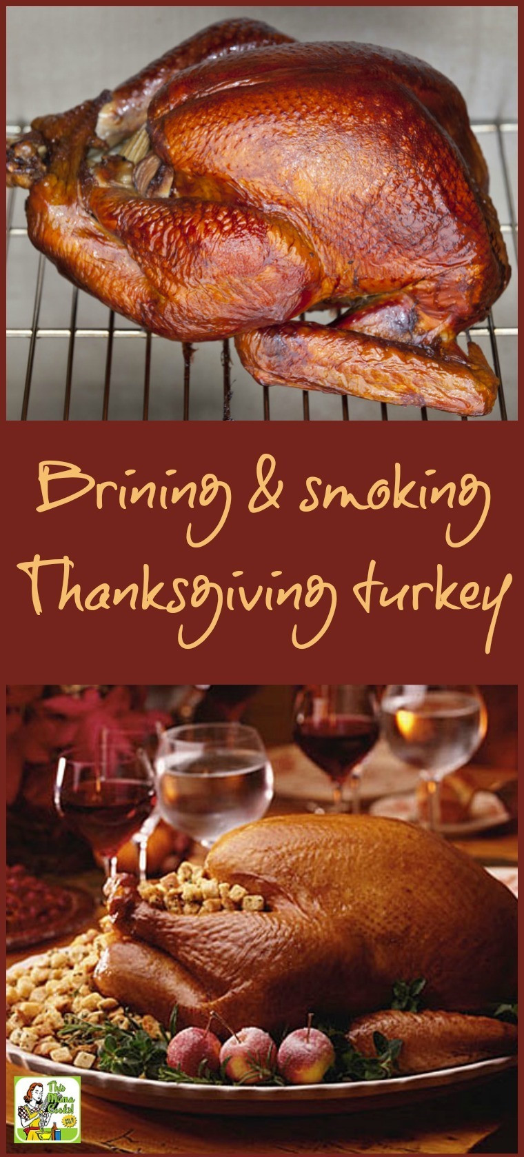 Smoke A Turkey For Thanksgiving  Brining and smoking your Thanksgiving turkey