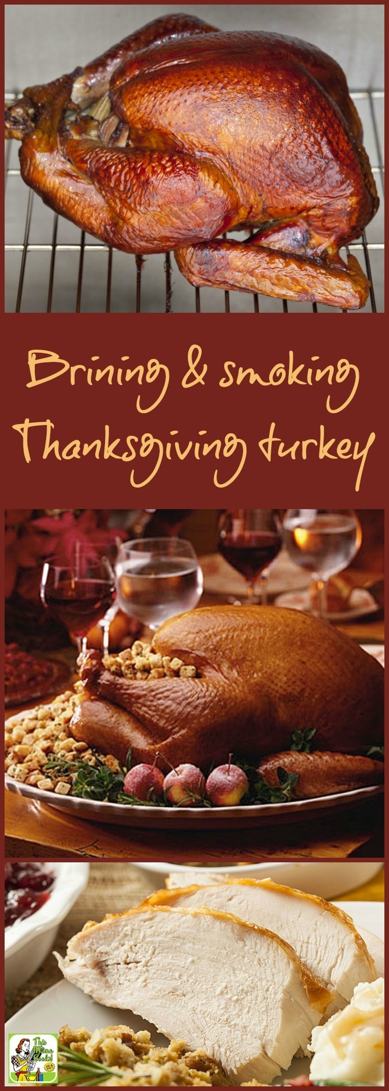Smoked Turkey For Thanksgiving  Brining and smoking your Thanksgiving turkey