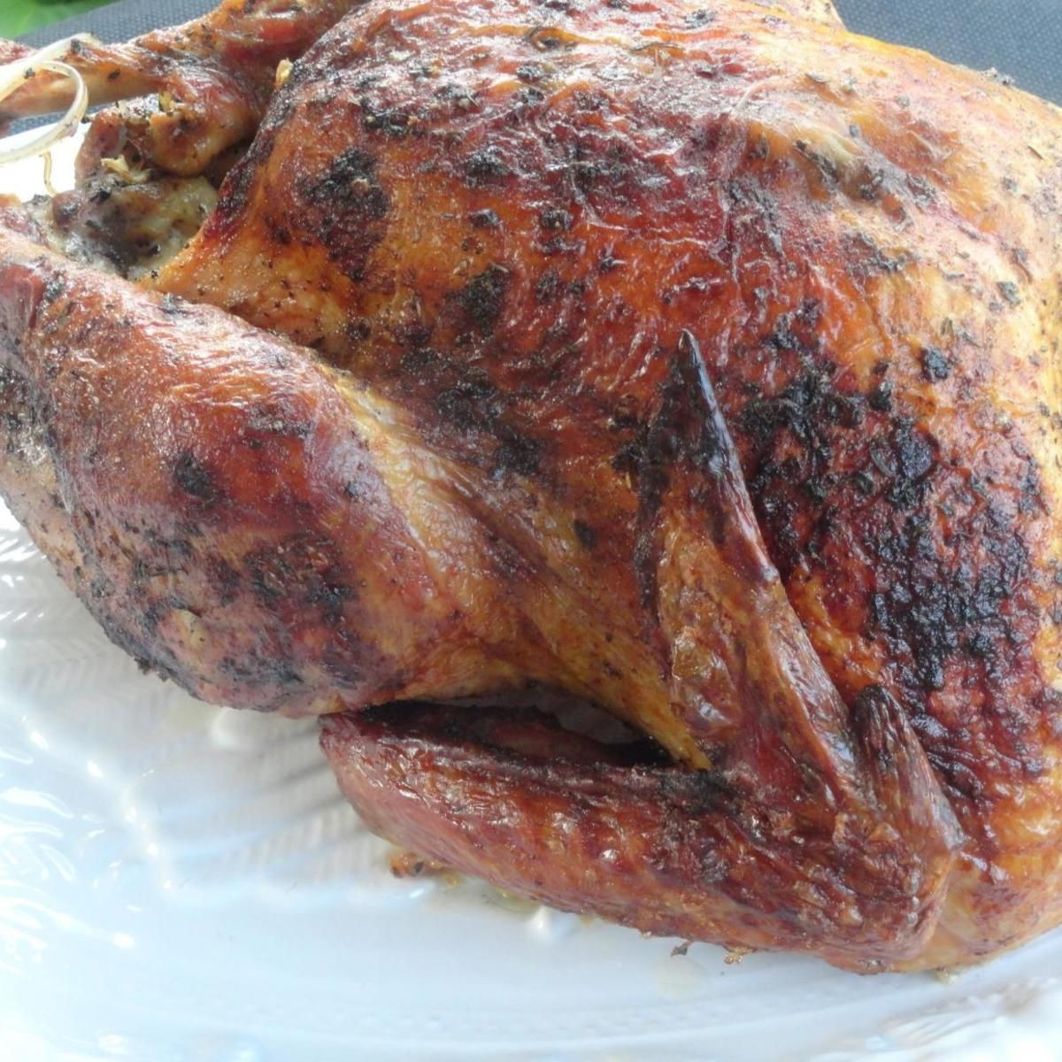 Smoked Turkey For Thanksgiving  My Favorite Thanksgiving Turkey smoked