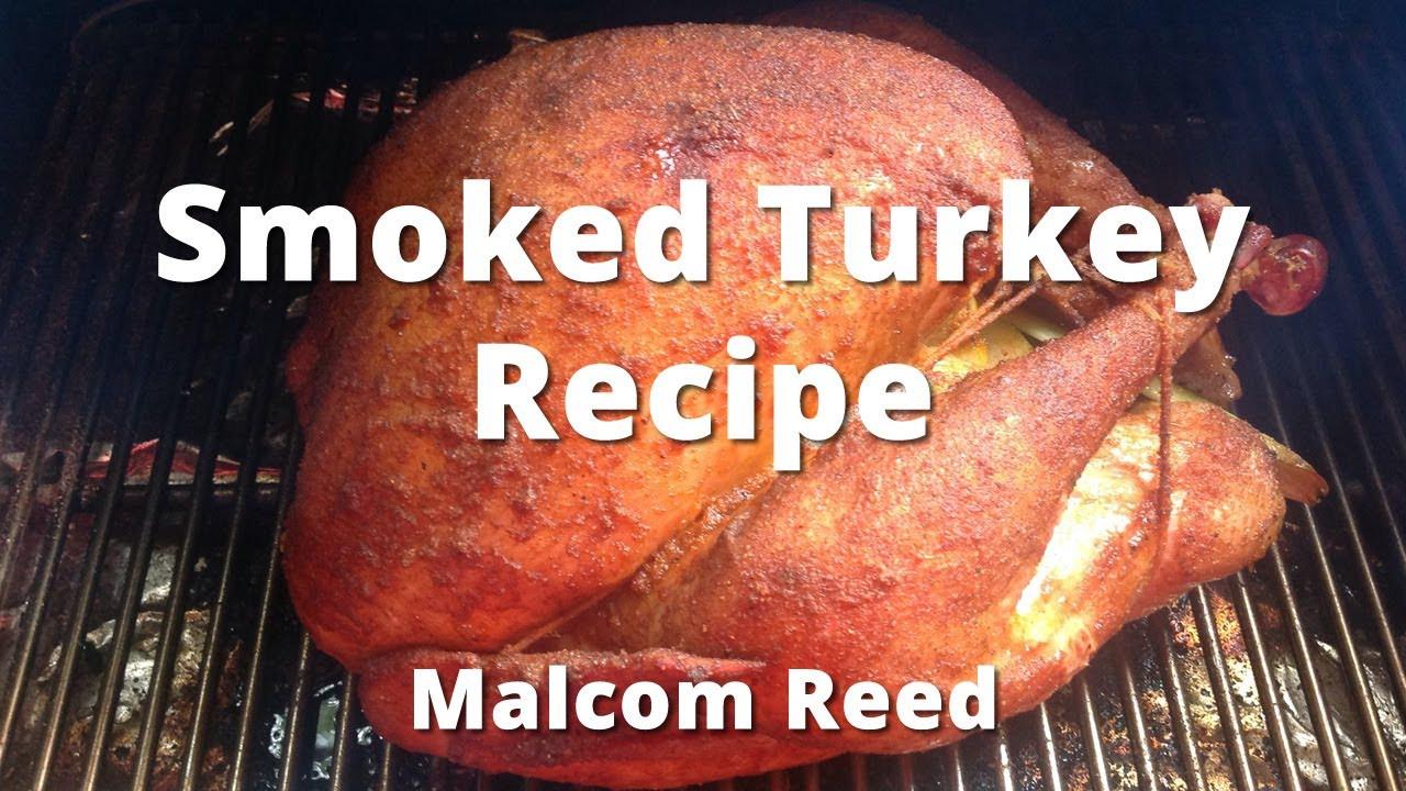 Smoking A Turkey For Thanksgiving  Smoked Turkey Recipe