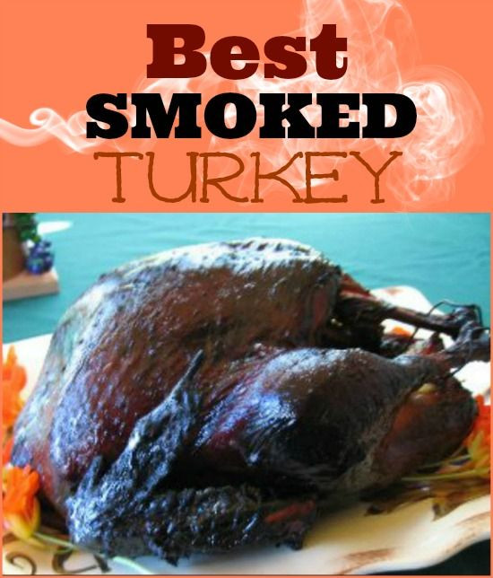 Smoking A Turkey For Thanksgiving  Best Smoked Turkey Recipe Whats Cooking America