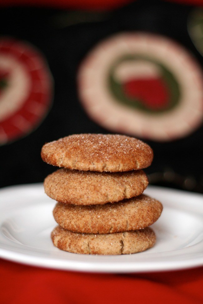 Snickerdoodle Christmas Cookies  Gluten Free Snickerdoodles The Best of this Life
