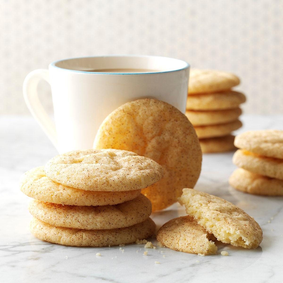 Snickerdoodle Christmas Cookies  Snickerdoodles Recipe