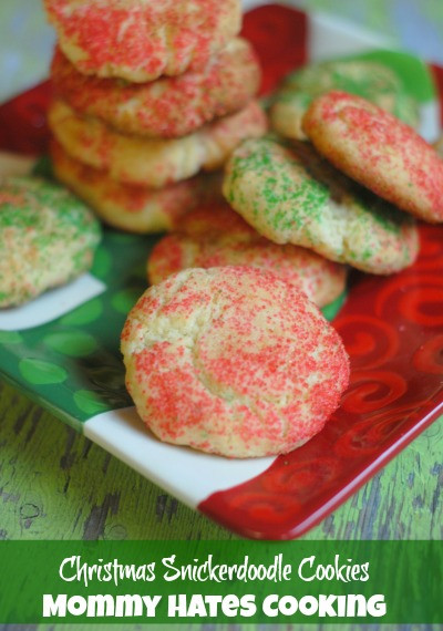 Snickerdoodle Christmas Cookies  Christmas Cookies Series Christmas Snickerdoodles