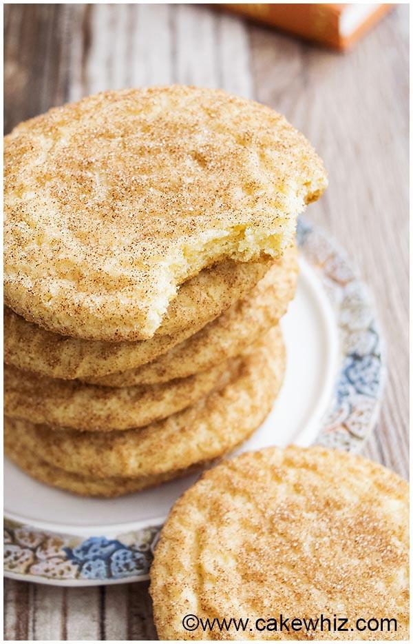 Snickerdoodle Christmas Cookies  Classic Snickerdoodles Cookies EASY FOOLPROOF CakeWhiz