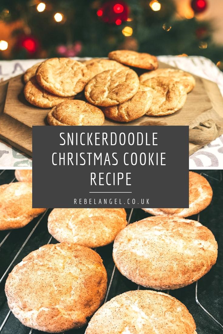 Snickerdoodle Christmas Cookies  Recipe Snickerdoodle Christmas Cookies