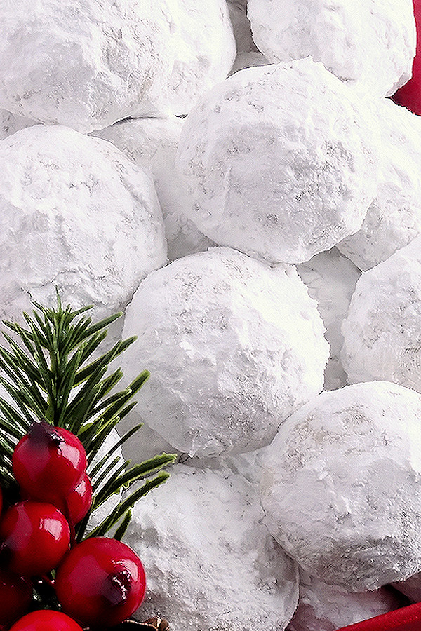 Snowball Christmas Cookies  Snowball Christmas Cookies best ever Wicked Good Kitchen