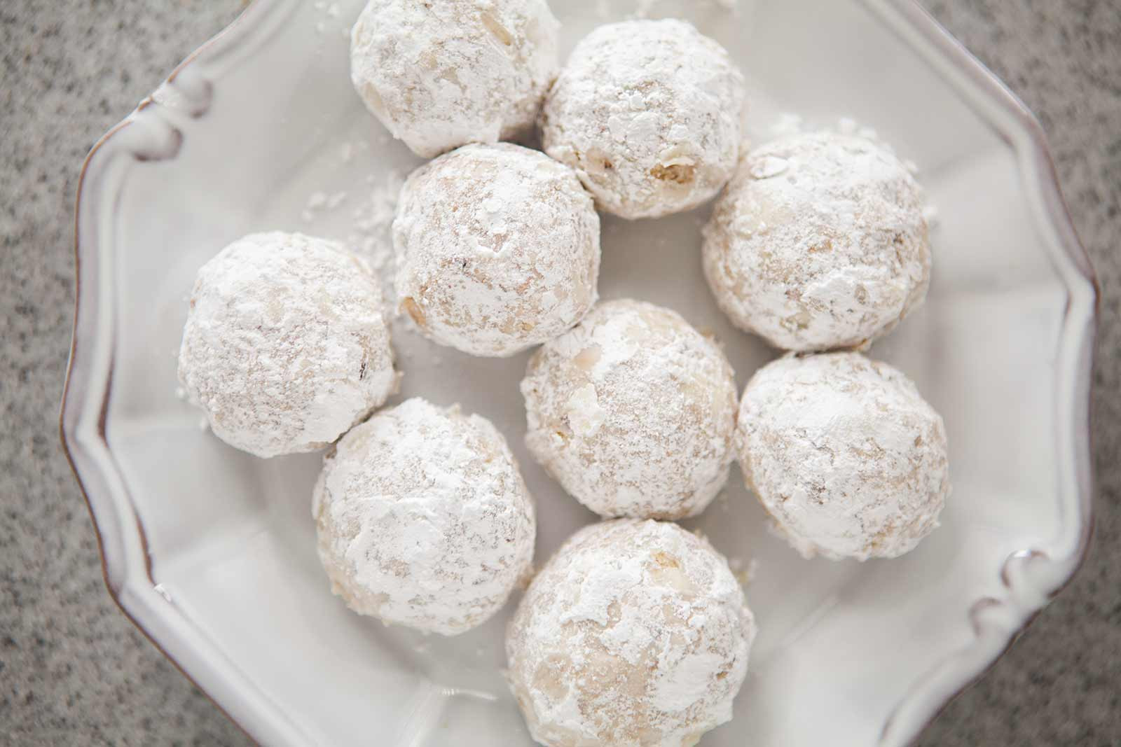Snowball Christmas Cookies  Walnut Snowball Cookies Recipe