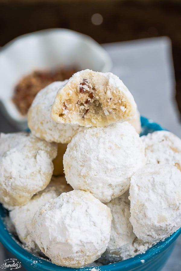 Snowball Christmas Cookies  Classic Pecan Snowball Cookies Russian Teacakes