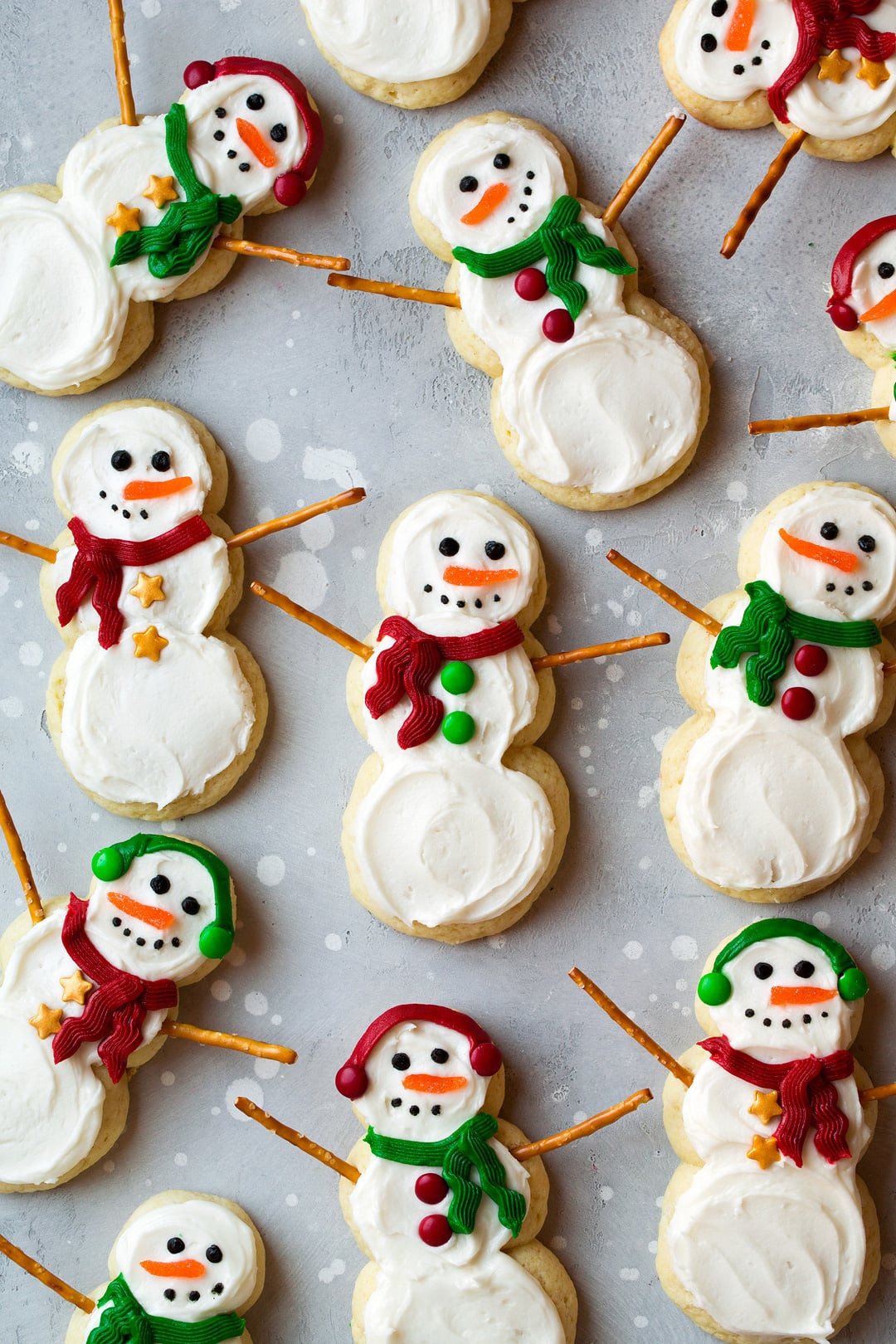 Snowman Christmas Cookies  Lofthouse Style Snowman Sugar Cookies Cooking Classy