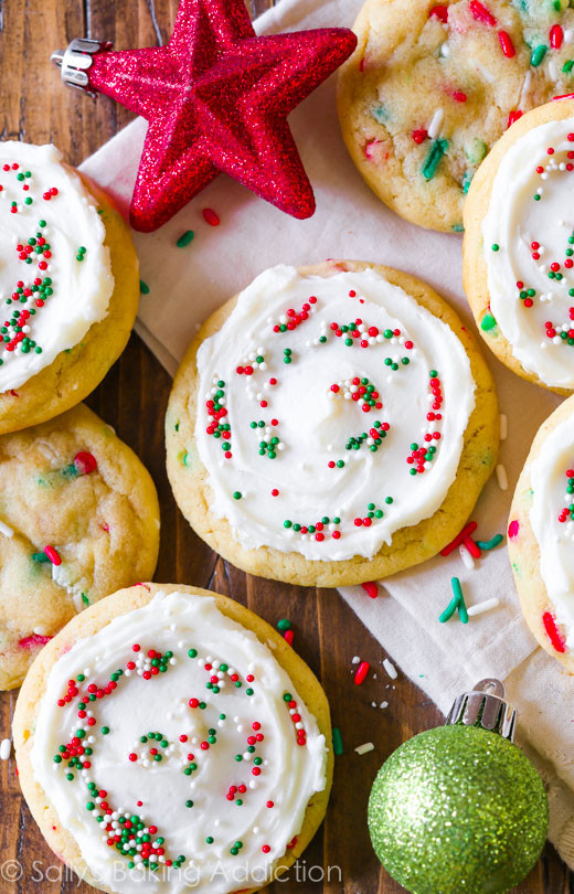Soft Christmas Cookies  50 Best Christmas Sugar Cookies Recipes for Easy Holiday