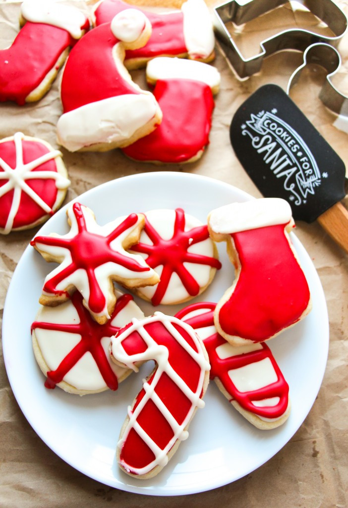 Soft Christmas Cookies  No Fail Soft Cut Out Sugar Cookies Layers of Happiness