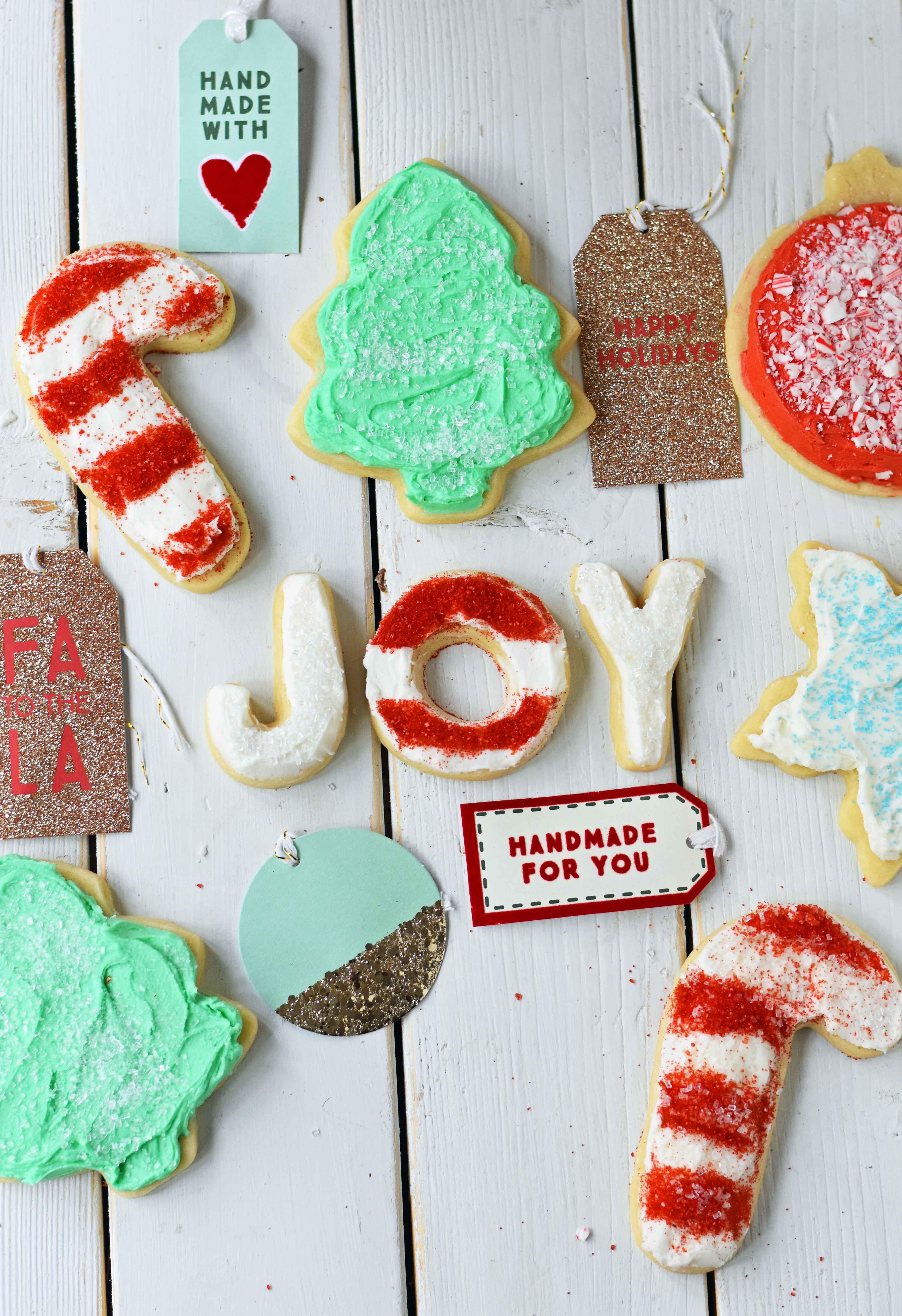 Soft Christmas Cookies  Soft Chewy Sugar Cookies – Modern Honey
