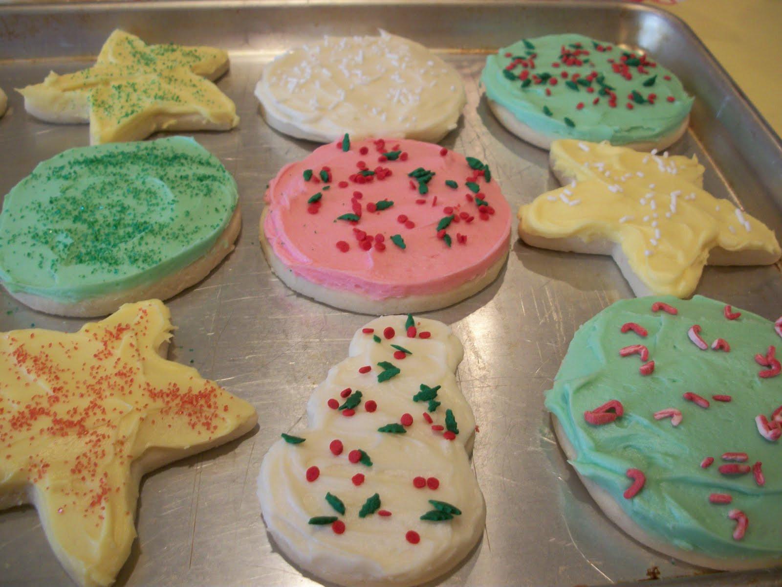 Soft Christmas Cookies  Lark s Country Heart Soft Christmas Sugar Cookies w