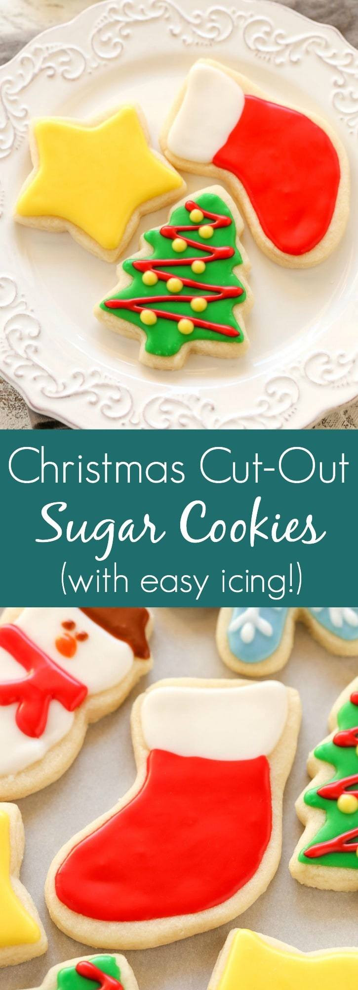 Soft Christmas Cookies  Soft Christmas Cut Out Sugar Cookies Live Well Bake ten