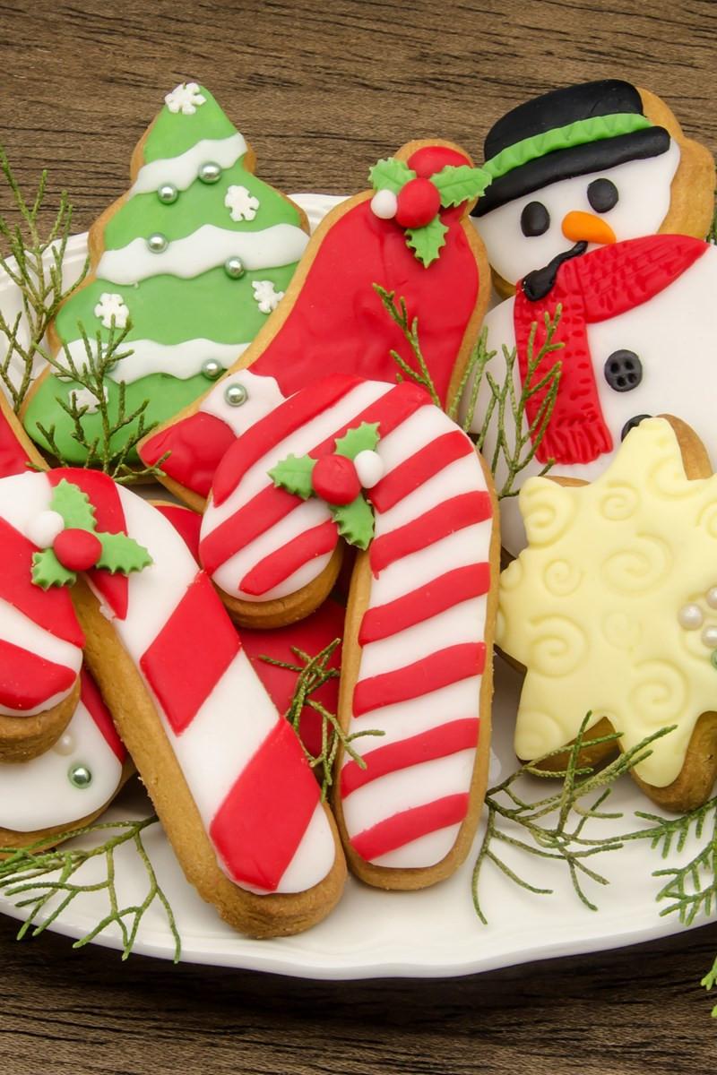 Soft Christmas Cookies  Soft Christmas Sugar Cookies