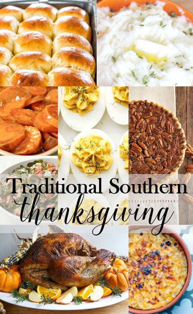 Southern Christmas Dinner Menu Ideas  100 Southern Thanksgiving Recipes on Pinterest