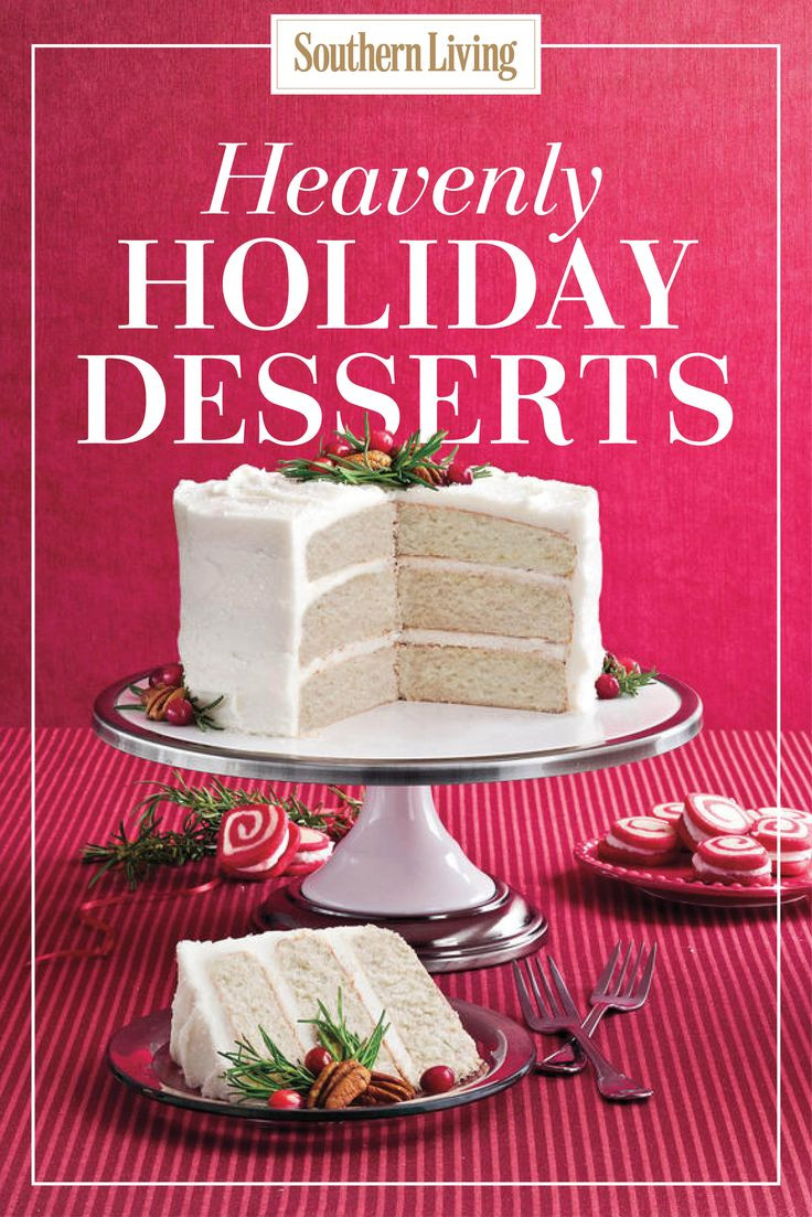 Southern Living Christmas Desserts  765 best images about Christmas Recipes on Pinterest