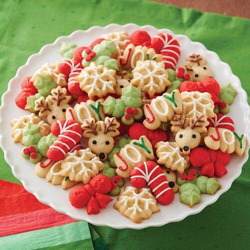 Spritz Christmas Cookies  Classic Spritz Cookies Recipe
